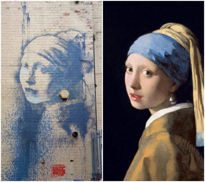 Banksy y Vermeer