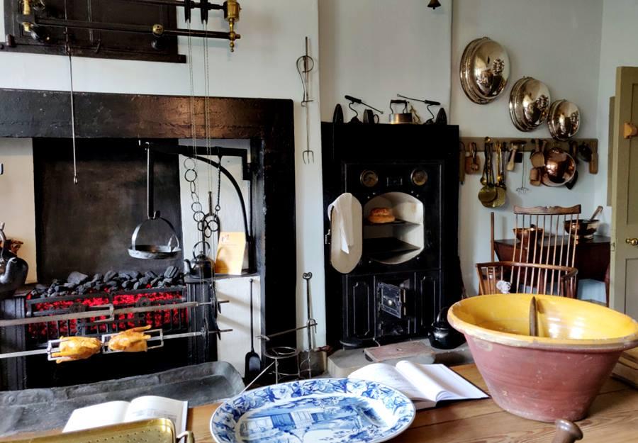 Visitar la Casa Georgiana de Edimburgo - Cocina