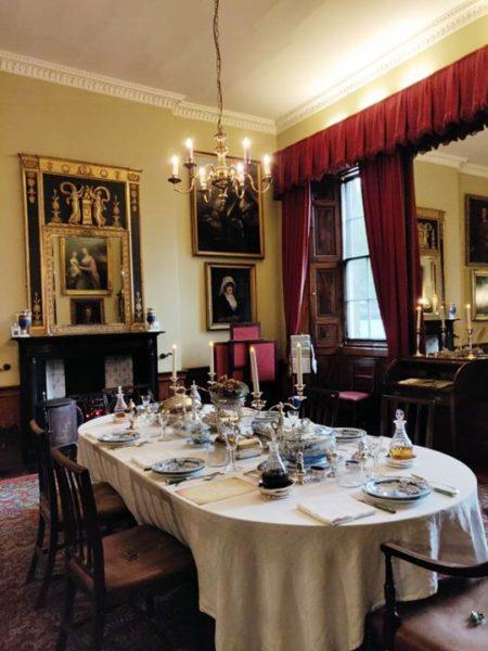 Visitar la Casa Georgiana de Edimburgo - Comedor principal