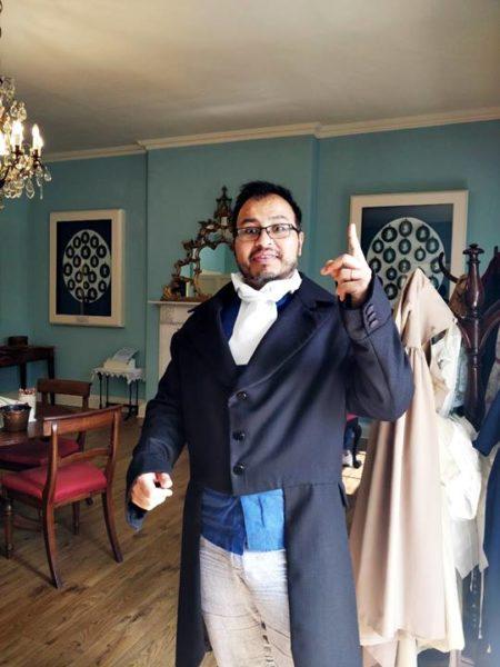Visitar la Casa Georgiana de Edimburgo - Arol disfrazado