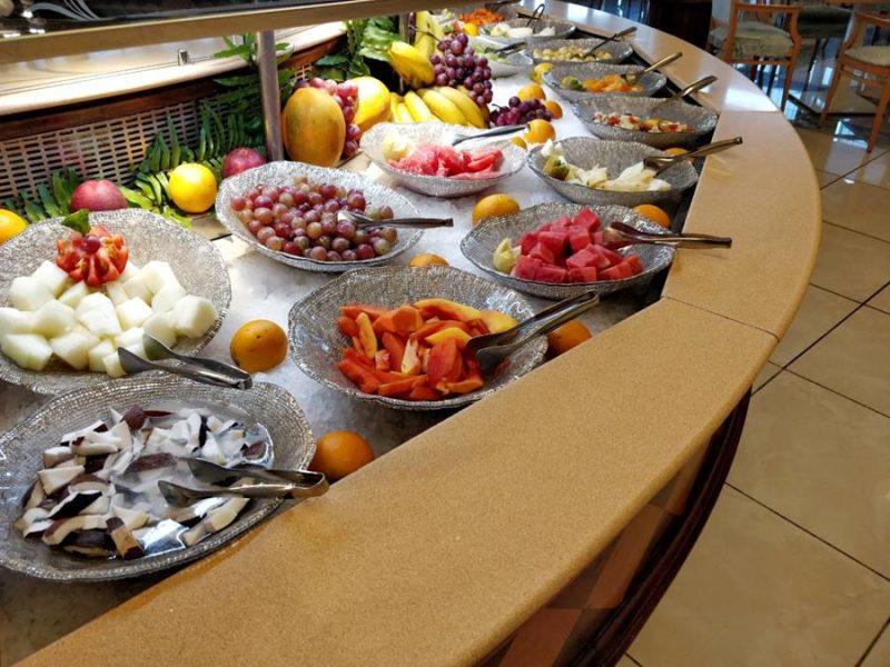 Todo incluido en Tenerife opiniones - Muchas frutas
