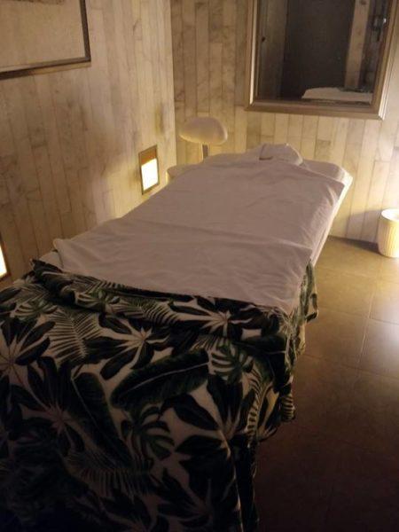 Todo incluido en Tenerife opiniones - Cama de masaje