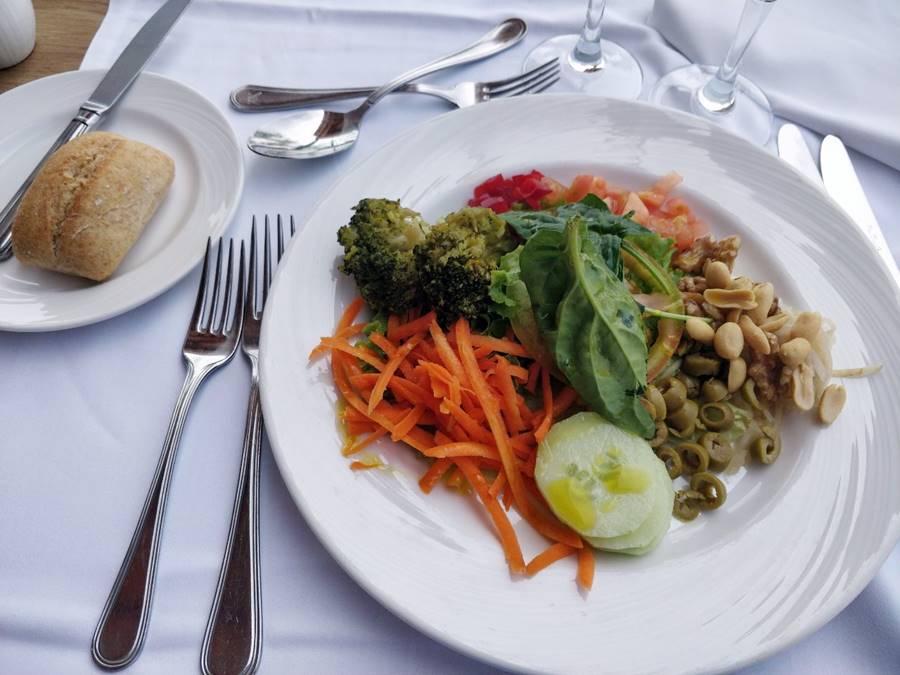 Todo incluido en Tenerife opiniones - Plato vegetariano