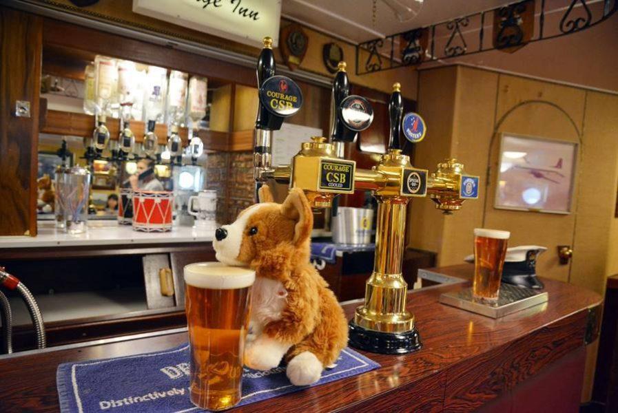 Visitar el Barco Britannia en Edimburgo, el bar