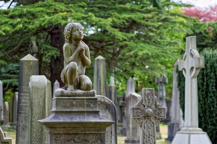 Cementerio en Edimburgo